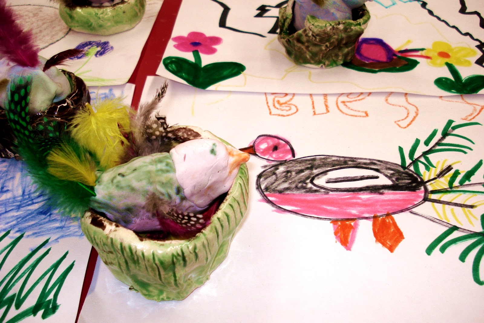Kindergarten Birds And Bird Nests