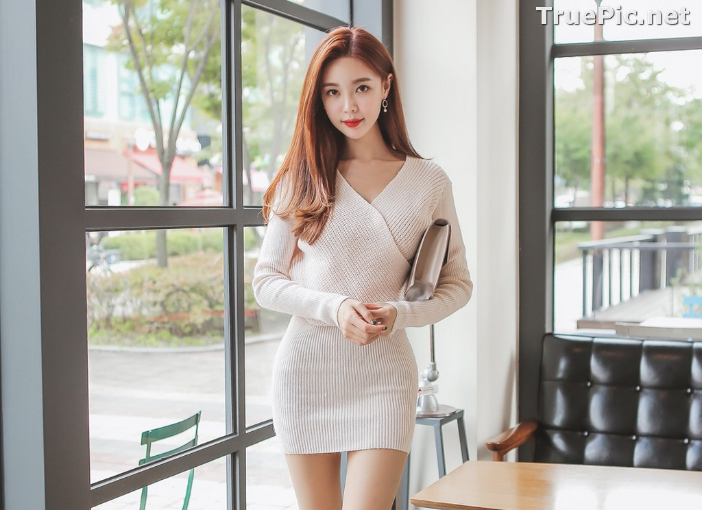 Image Korean Fashion Model – Hyemi – Office Dress Collection #3 - TruePic.net - Picture-10