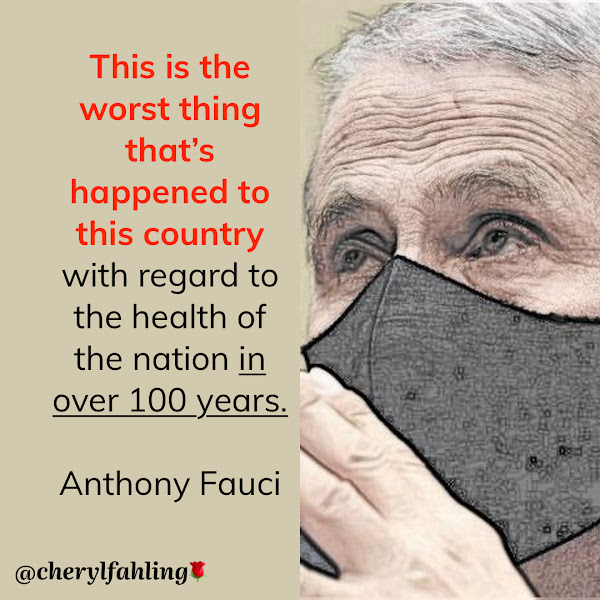 This is the worst thing that's happened to this country with regard to the health of the nation in over 100 years. — Dr. Anthony Fauci, director of the National Institute of Allergy and Infectious Diseases