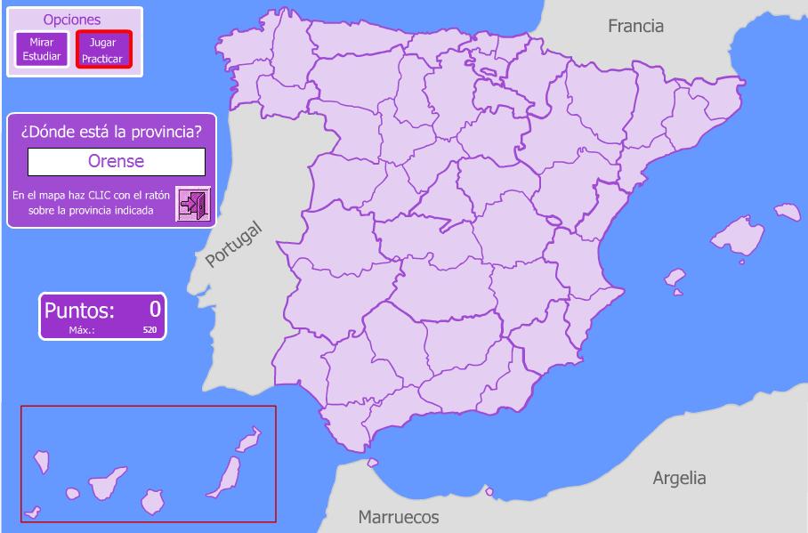 Mapa Interactiu Provincies Espanya.Bloc Tuareg Mapes Interactius Provincies D Espanya