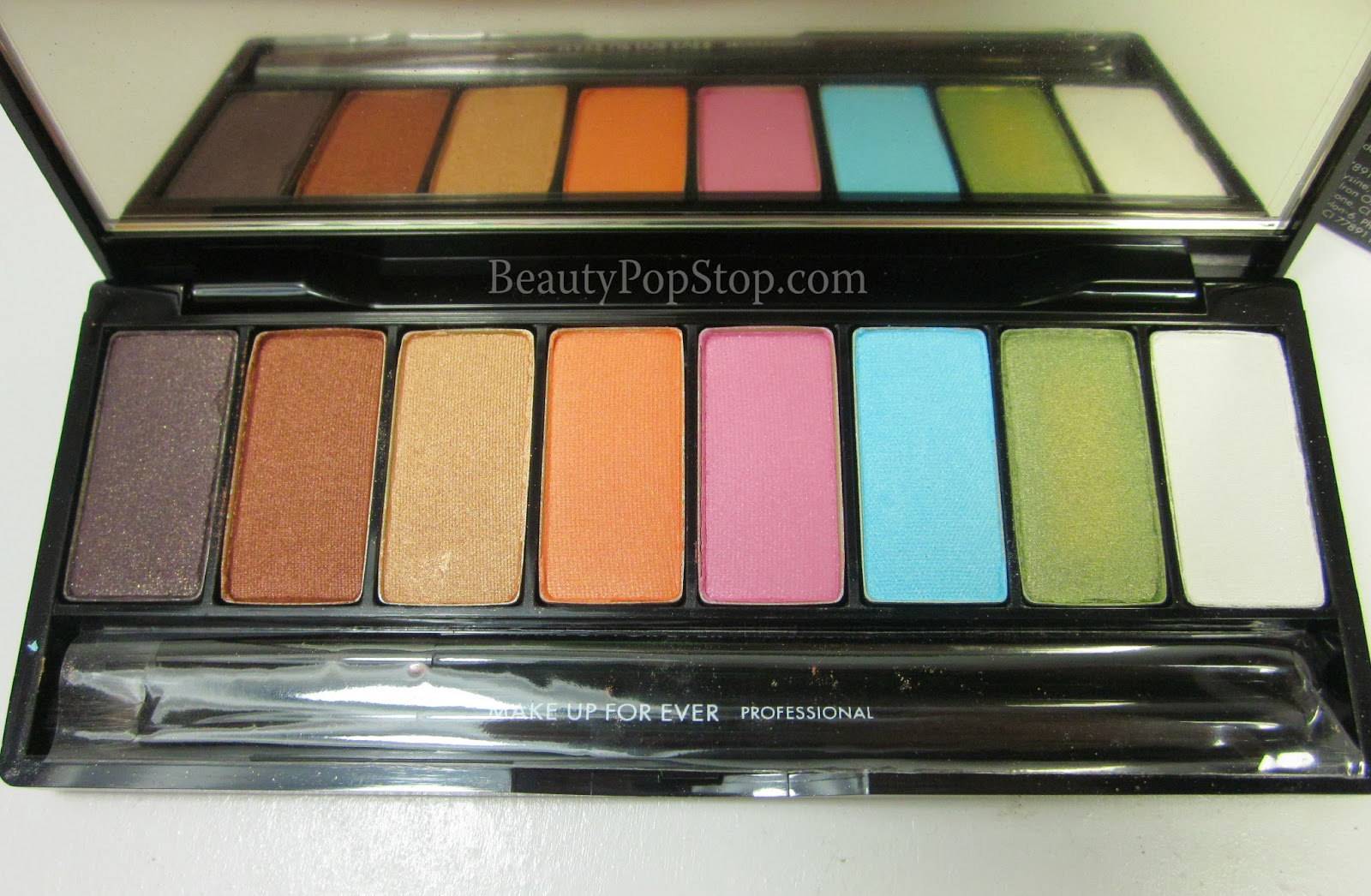 make up for ever arty blossom palette limited edition spring 2014 swatches