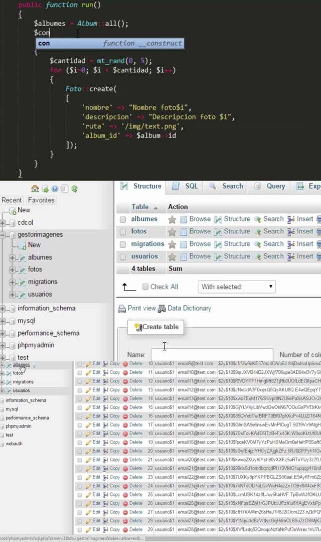 Udemy: Desarrolla una Aplicación de Fotos con Laravel y PHP