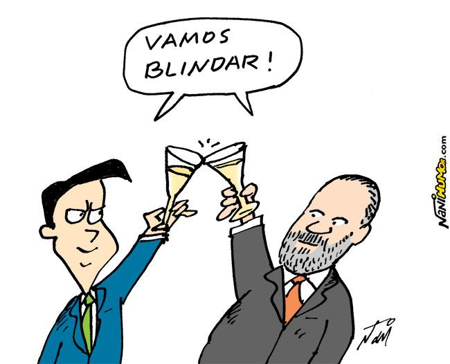 Nani Humor: ARAS E BOLSONARO
