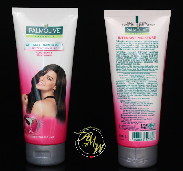 a photo of Palmolive Naturals Intensive Moisture Shampoo and Conditioner