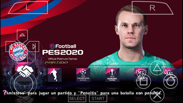 واخيرا تحميل لعبة بيس 2020 للاندرويد ppsspp بدون نت وبحجم خيالي 400MB من ميديا فير بأخر الانتقالات