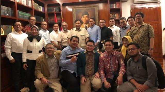 Prabowo Merasa Perjuangan Menyelamatkan Bangsa Belum Selesai