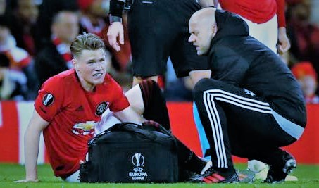 Sports: Manchester United Boss Speaks Up On Scott McTominay Injury