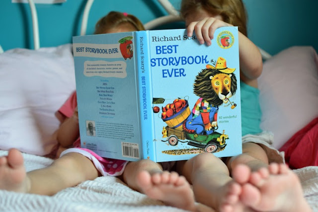 Richard Scarry's Best Storybook Ever, part of reading roundup- favorite books from June