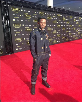 Korede Bello outfit to MAMA 2016