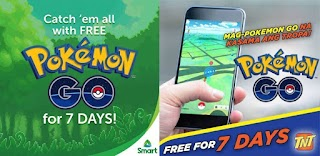 Smart and Talk N Text gives Free Internet Access on Pokemon Go