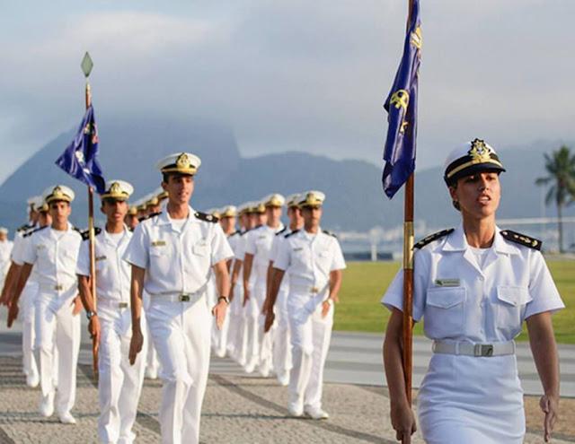 Show Escola Naval da Marinha Brasileira (Foto: Divulgação)