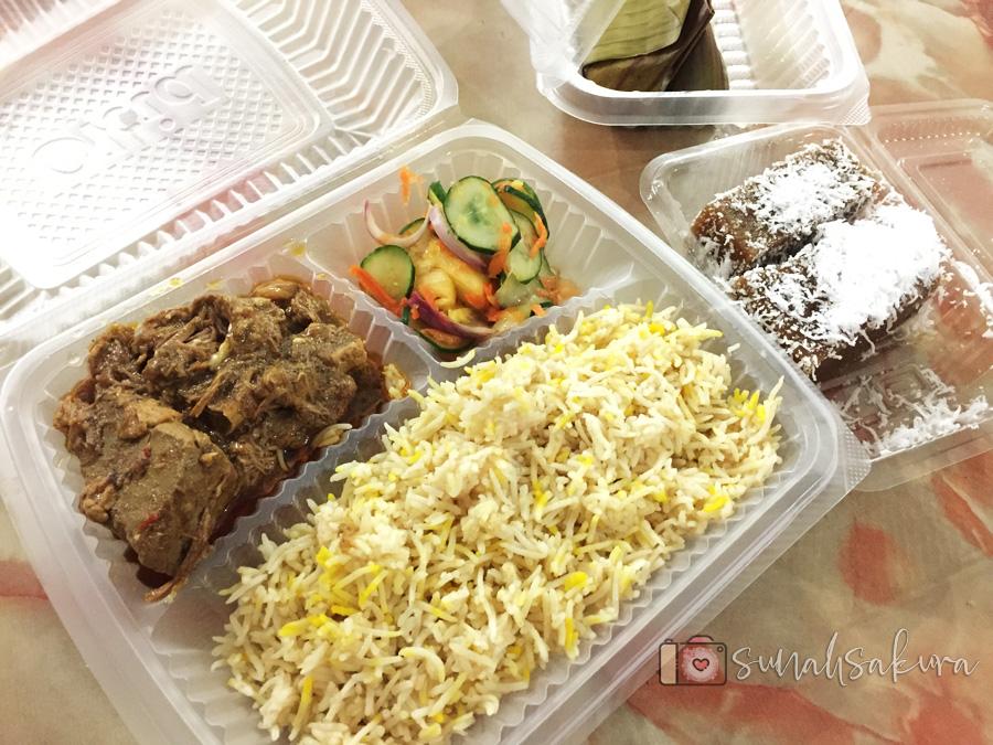 Alhamdulillah Untuk Juadah Berbuka 13 Ramadan