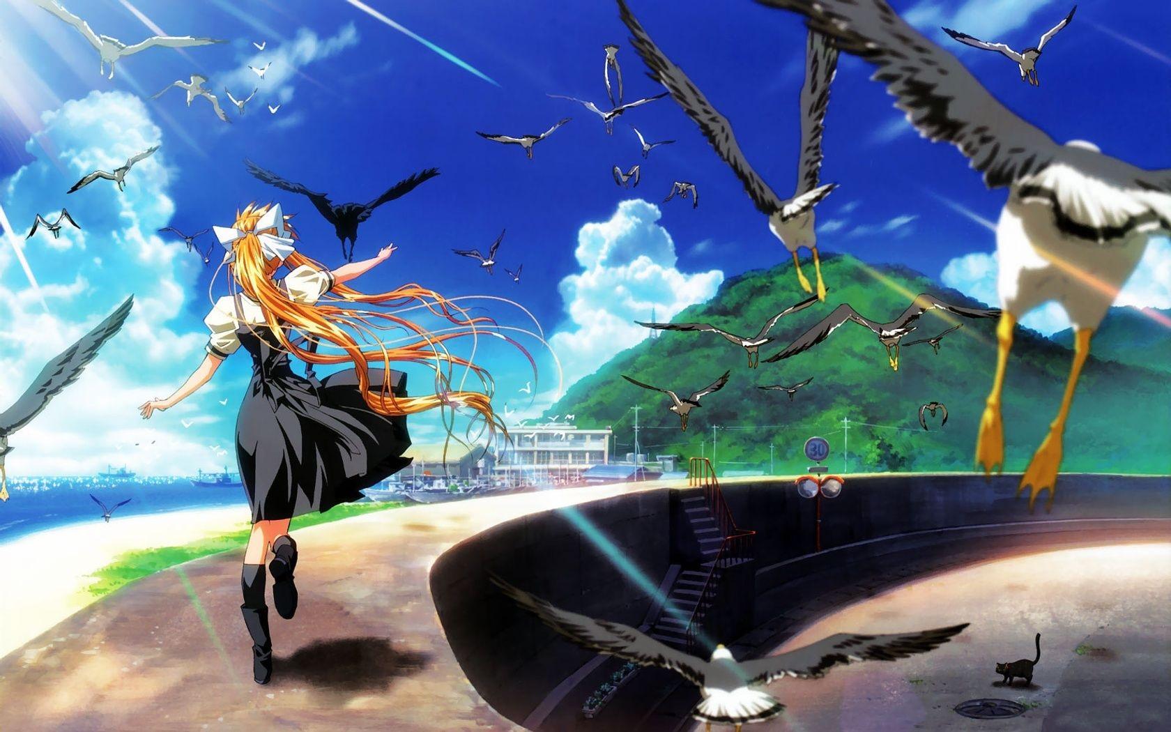 Air anime wallpaper