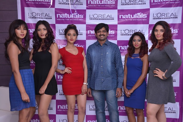 Natural Launches Family Beauty Salon @ Guntur