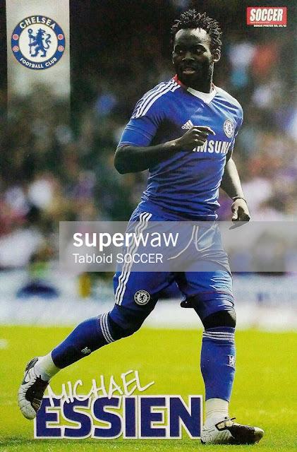 Michael Essien Chelsea FC 2010