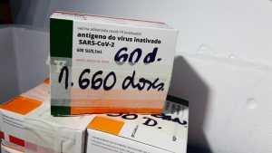 Paraíba recebe hoje mais 56 mil doses de vacina contra Covid-19