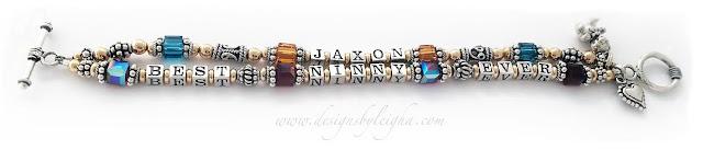 Best Ninny Ever - Jaxon Bracelet