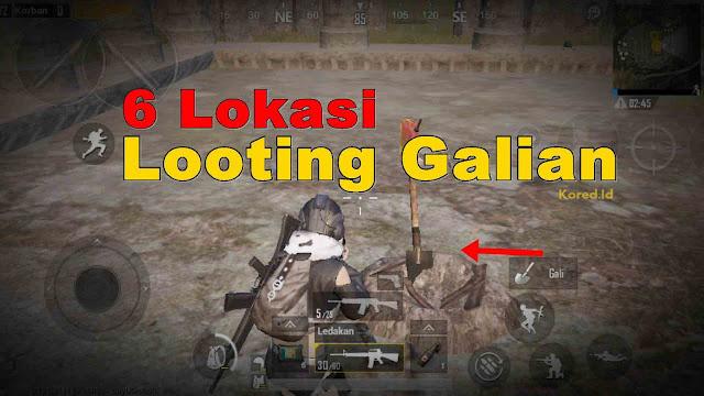 Lokasi Looting Excavate (Galian) Season 8