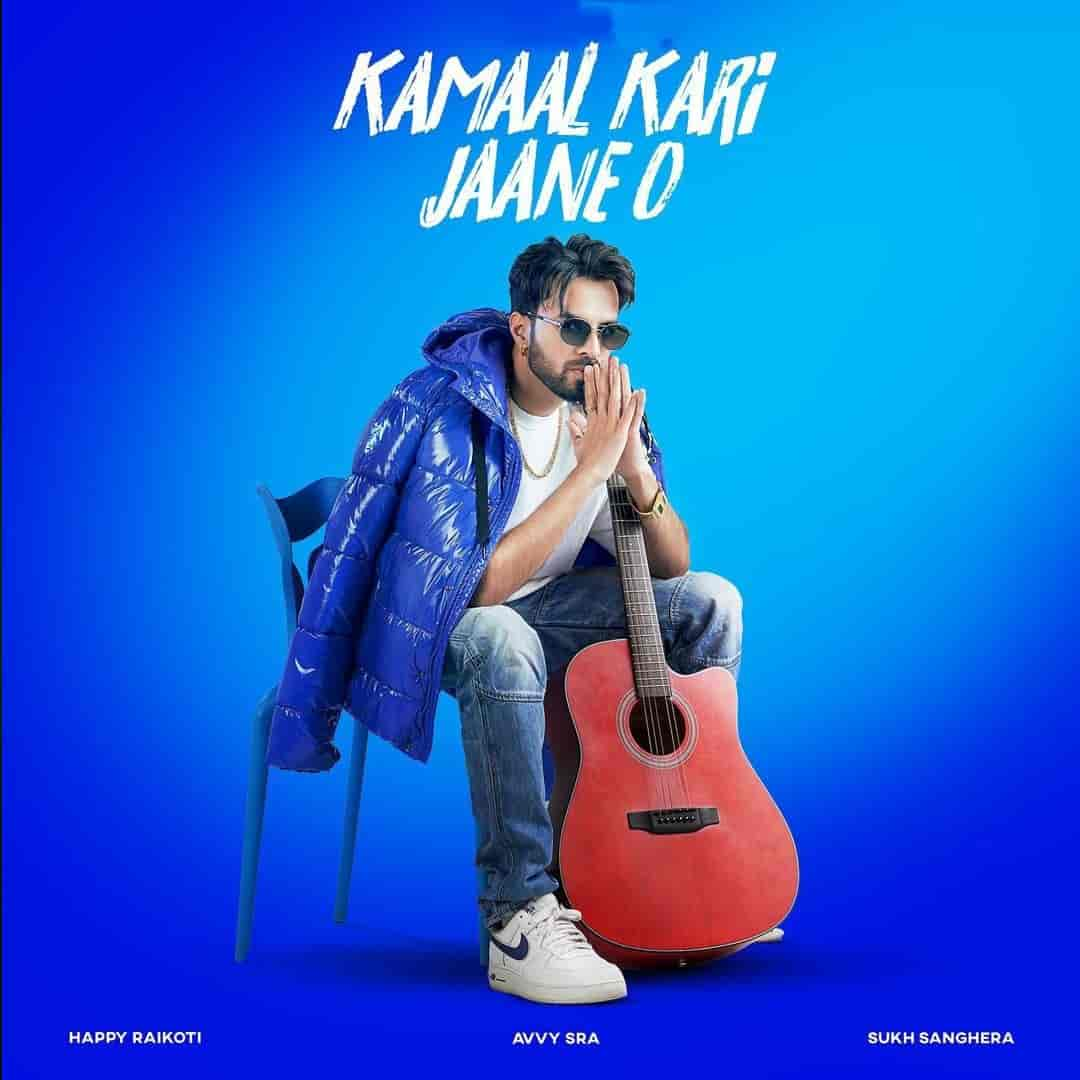 Kamaal Kari Jaane O Punjabi Song Image Features Happy Raikoti
