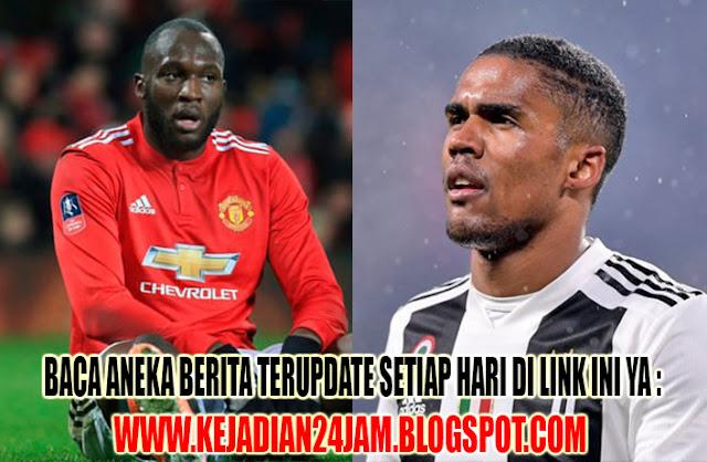 Manchester United Siap Barter Lukaku Dengan Douglas Costa