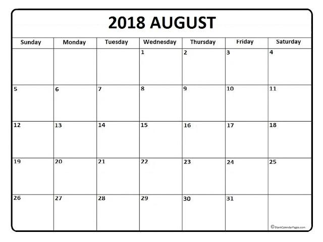 Calendar August 2018, August 2018 Calendar, August 2018 Blank Calendar, Printable August 2018 Calendar, Free August 2018 Calendar, 2018 August Calendar Template, August 2018 Calendar Printable, August 2018 Calendar Holidays, August 2018 Calendar PDF
