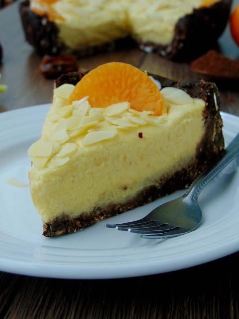 Tarta z kremem imbirowo-mandarynkowym