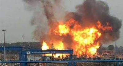 انفجار ضخم ينسف مصنعا للمتفجرات بشركة تازيازت..