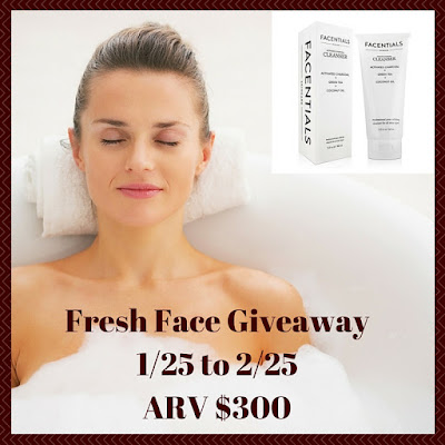 Enter the Fresh Face Giveaways. Ends 2/25