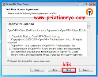Cara Munggunakan OpenVPN Client di Pc / Laptop