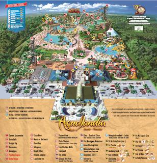 Mappa Aqualandia