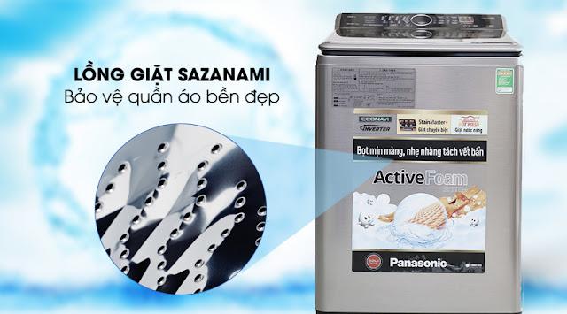 Máy giặt Panasonic NA-F135V5SRV