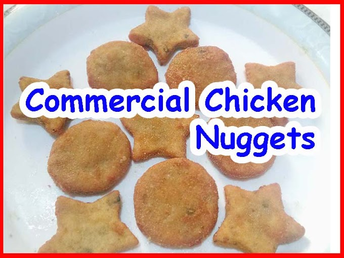 Commercial Chicken Nuggets Recipe Video