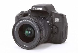 kamera canon 750d