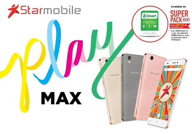 Starmobile PLAY Max with Power Plus 600 Bundle, PLAY Plus now official