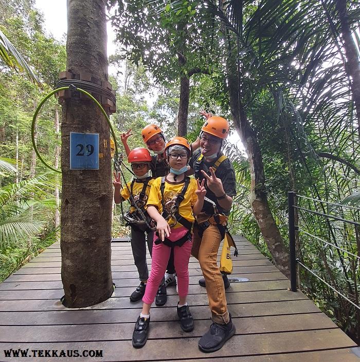 Zipline Penang Hill The Habitat Best Rating Activity