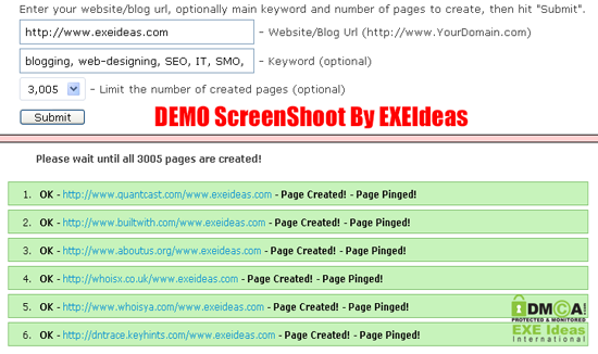IMT-Website-Submiter-DEMO-By-EXEIdeas