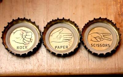 rock paper scissors java