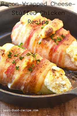 Bacon-Wrapped Cheese-Stùffed Chicken Recipe