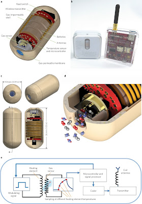 the capsule that measures the gas in your stomach