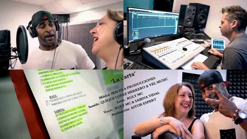 Ruly MC & Sabina Vidal - ¨La Carta¨ - Videoclip - Director: Aitor Espert. Portal Del Vídeo Clip Cubano. Música popular bailable cubana. Salsa. Cuba.