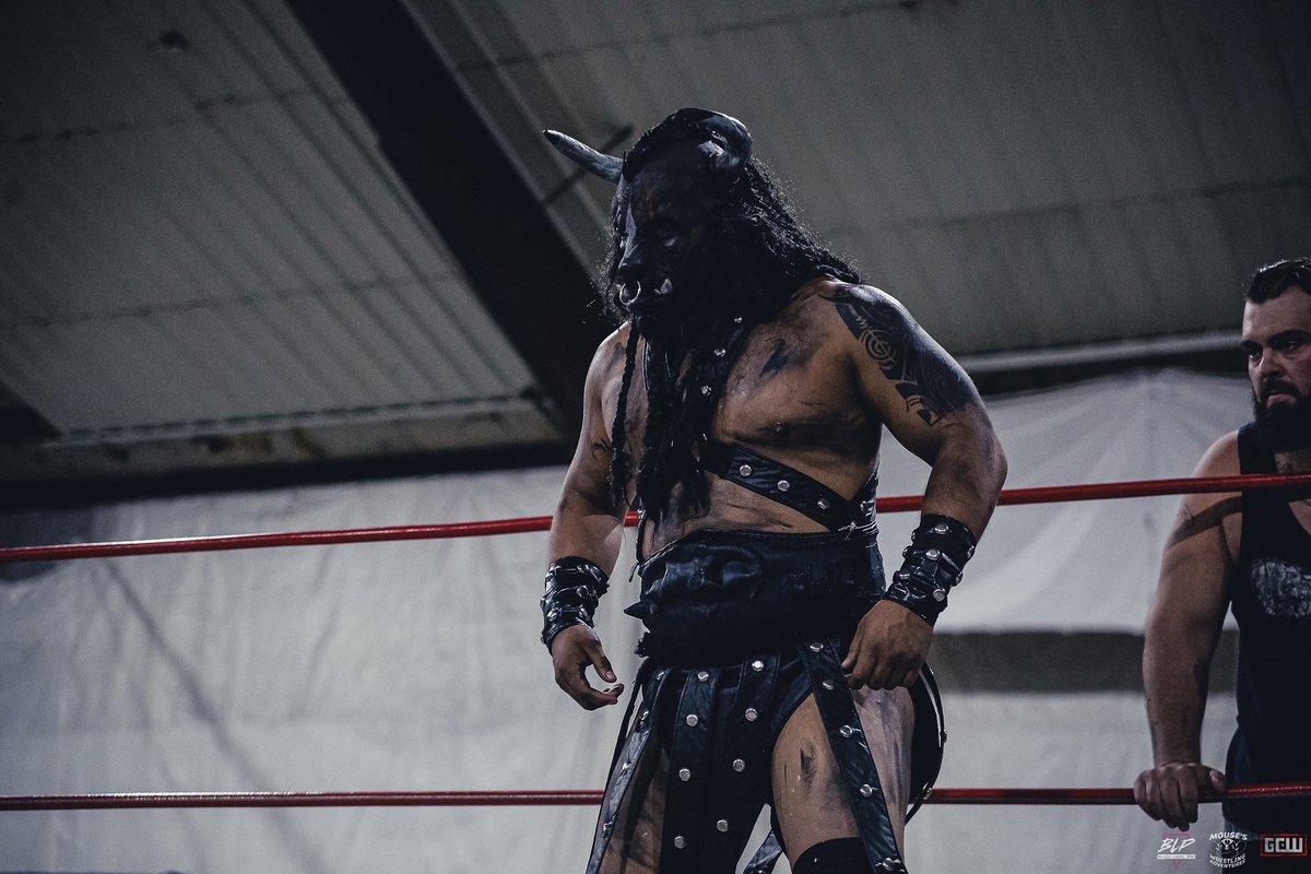 Black Taurus está trabalhado nas gravações da Impact Wrestling