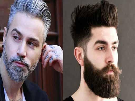 How to make white beard black naturally in Hindi