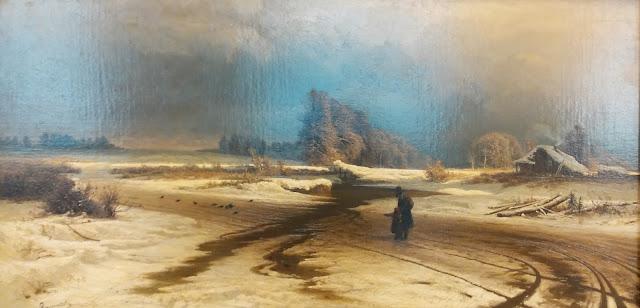 """Ф.А.Васильев """"Оттепель"""", 1871 г."""