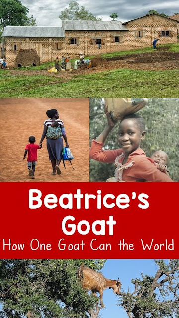 Learn about the children's book Beatrice's Goat by Page McBrier and how one small goat made a huge impact on a child's life. Based on a true story.
