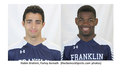FHS Brahimi, Asmath recognized with Hockomock Sports Com Soccer Awards