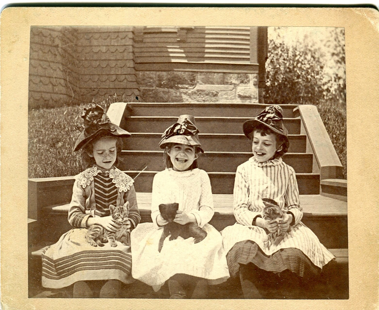 Grace Mason, Sabina Marshall, Helen Jones