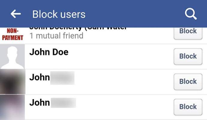 ماذا يحدث عند حظر شخص على الفيس بوك