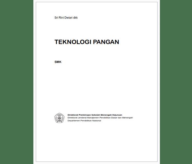 Berikut ini adalah berkas Buku SMK Agroindustri Teknologi Pangan Jilid  Buku SMK Agroindustri Teknologi Pangan