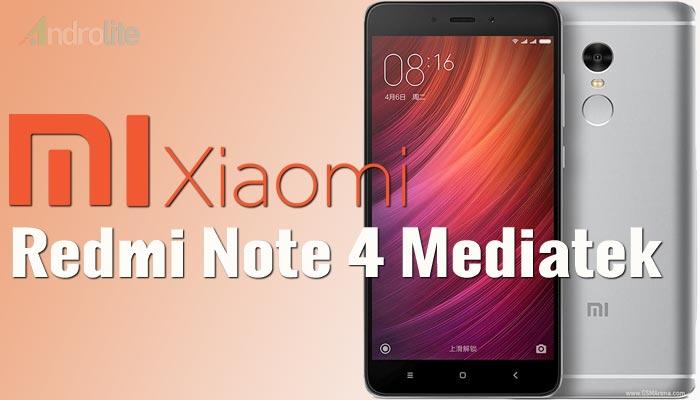 Harga Xiaomi Redmi Note 4 Mediatek