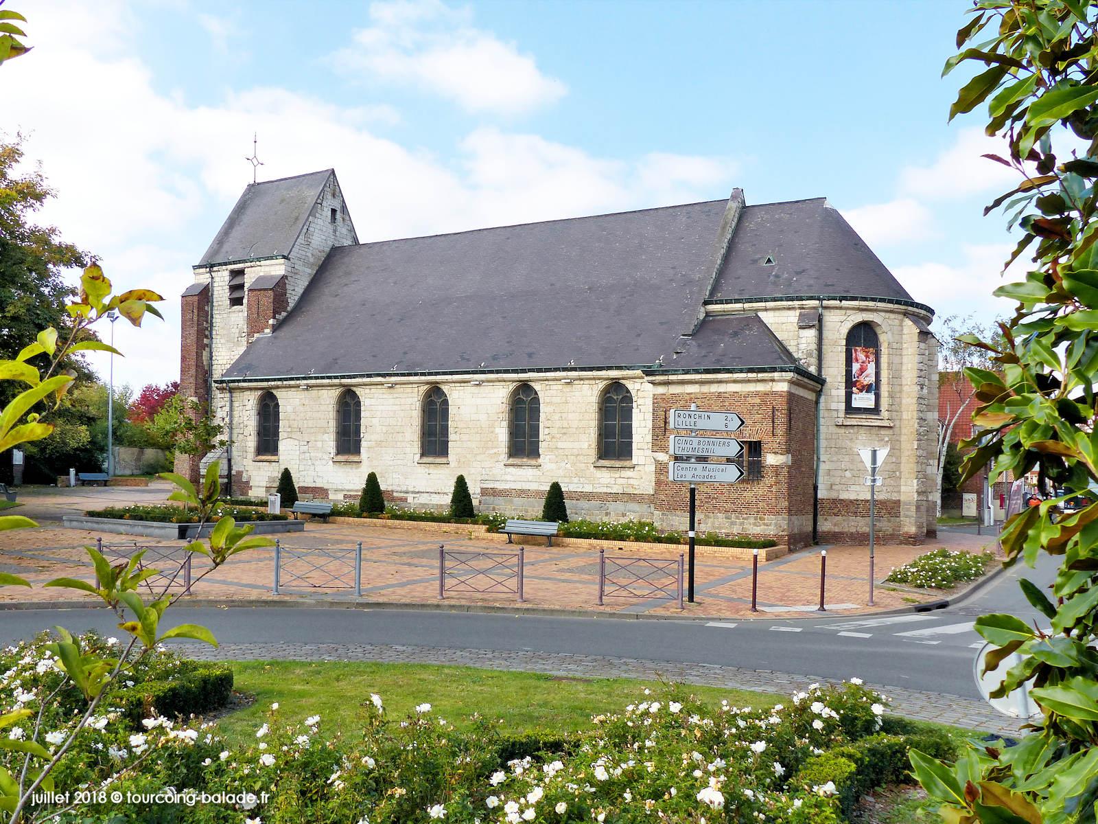 Église Sainte Marguerite d'Antioche, Faches-Thumesnil, 2018
